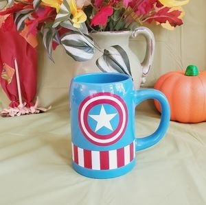 Captain America Ceramic Mug Marvel Big Coffee Cup